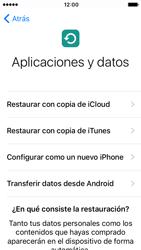 Apple iPhone SE iOS 10 - Primeros pasos - Activar el equipo - Paso 14