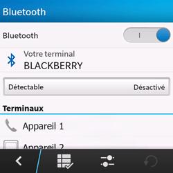 BlackBerry Q10 - Bluetooth - connexion Bluetooth - Étape 9
