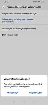 Huawei P Smart (2019) - Beveiliging - stel in of wijzig pincode voor je toestel - Stap 8