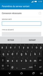 HTC One M8s - E-mail - Configuration manuelle - Étape 12