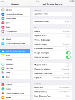 Apple iPad Air iOS 8 - E-mail - configuration manuelle - Étape 8