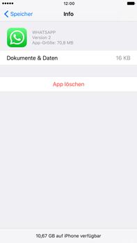 Apple Apple iPhone 7 Plus - Apps - Eine App deinstallieren - Schritt 7