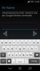 Sony Xperia E3 - Apps - Konto anlegen und einrichten - 7 / 25