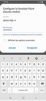 Samsung Galaxy A40 - Internet et connexion - Partager votre connexion en Wi-Fi - Étape 10