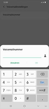 Samsung Galaxy S20 Ultra 5G Dual SIM eSIM SM-G988B - Voicemail - Handmatig instellen - Stap 9