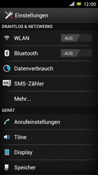 Sony Xperia J - WLAN - Manuelle Konfiguration - Schritt 4