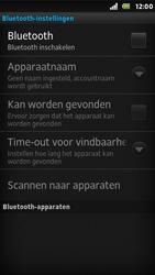 Sony ST25i Xperia U - Bluetooth - Koppelen met ander apparaat - Stap 6