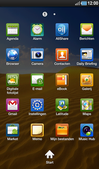 Samsung P1000 Galaxy Tab - E-mail - Hoe te versturen - Stap 3