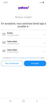 Samsung Galaxy Note20 - E-mails - Ajouter ou modifier votre compte Yahoo - Étape 11