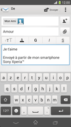 Sony D5503 Xperia Z1 Compact - E-mail - envoyer un e-mail - Étape 9