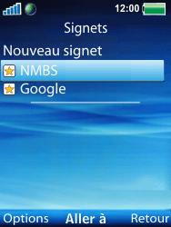 Sony W100i Spiro - Internet - Navigation sur Internet - Étape 17