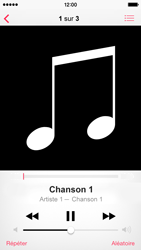 Apple iPhone 5c - Photos, vidéos, musique - Ecouter de la musique - Étape 5