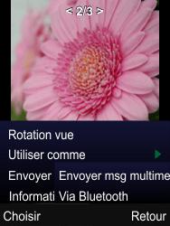 Mobiwire Leyti - Photos, vidéos, musique - Envoyer une photo via Bluetooth - Étape 8