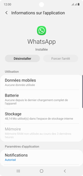Samsung Galaxy Note 10 - Applications - Supprimer une application - Étape 6