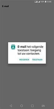 LG Q7 - E-mail - Account instellen (IMAP zonder SMTP-verificatie) - Stap 19