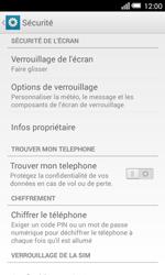 Alcatel OT-5050X Pop S3 - Sécuriser votre mobile - Activer le code de verrouillage - Étape 5