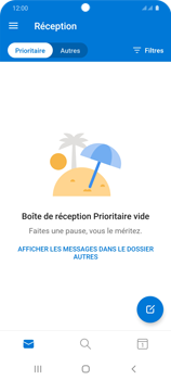 Samsung Galaxy S20 5G - E-mail - 032c. Email wizard - Outlook - Étape 12