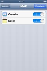 Apple iPhone 4 S - E-mail - Configuration manuelle - Étape 13
