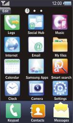 Samsung S8500 Wave - Internet - Manual configuration - Step 3
