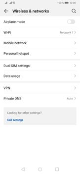 Huawei P30 - WiFi - Enable WiFi Calling - Step 5