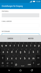 HTC One Mini 2 - E-Mail - Konto einrichten - 1 / 1
