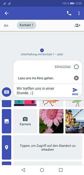 Huawei P20 - MMS - Erstellen und senden - 14 / 22