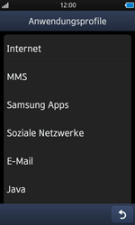 Samsung S8500 Wave - MMS - Manuelle Konfiguration - Schritt 17