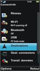 Sony U5i Vivaz - Internet - Configuration manuelle - Étape 5