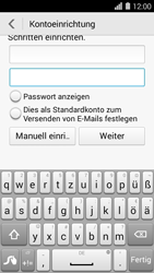 Huawei Ascend Y550 - E-Mail - Konto einrichten (outlook) - 0 / 0