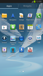 Samsung Galaxy Note II - Applications - Setting up the application store - Step 3