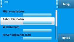 Nokia N97 - e-mail - handmatig instellen - stap 27