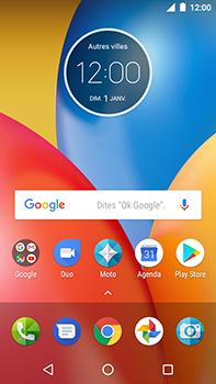 Motorola Moto E4 Plus - Internet et connexion - Désactiver la connexion Internet - Étape 1
