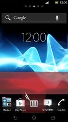 Sony Xperia T - Startanleitung - Installieren von Widgets und Apps auf der Startseite - Schritt 8