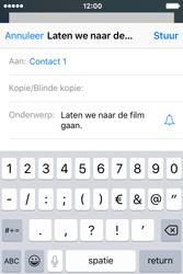 Apple iPhone 4S iOS 9 - E-mail - hoe te versturen - Stap 7