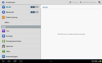 Samsung Galaxy Tab 2 10.1 - Internet und Datenroaming - Manuelle Konfiguration - Schritt 4