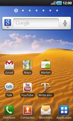 Samsung I9000 Galaxy S - Voicemail - handmatig instellen - Stap 2