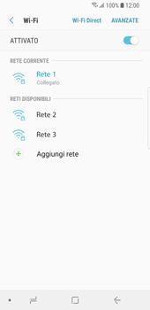 Samsung Galaxy S9 - WiFi - Configurazione WiFi - Fase 9