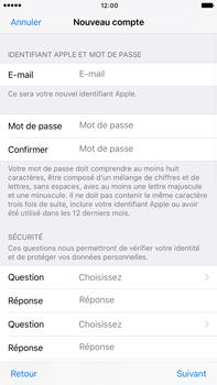 Apple Apple iPhone 6s Plus iOS 10 - Applications - Créer un compte - Étape 12