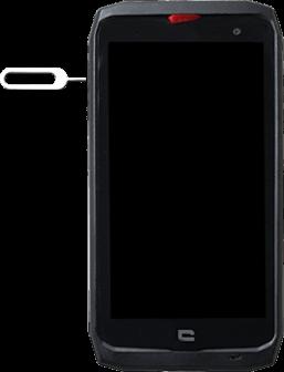 Crosscall Action X3 - Premiers pas - Insérer la carte SIM - Étape 2