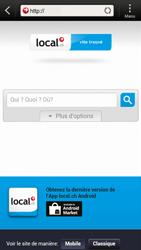 HTC One S - Internet et roaming de données - Navigation sur Internet - Étape 13