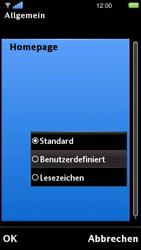 Sony Ericsson U5i Vivaz - Internet - Manuelle Konfiguration - 26 / 29