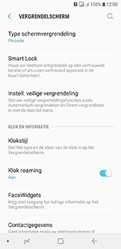 Samsung Galaxy A6 - Beveiliging - stel in of wijzig pincode voor je toestel - Stap 12