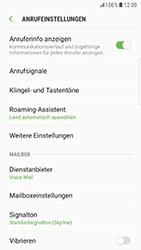 Samsung Galaxy S6 Edge (G925F) - Android Nougat - Anrufe - Rufumleitungen setzen und löschen - Schritt 6