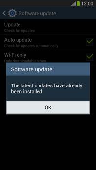 Samsung Galaxy Note III LTE - Software - Installing software updates - Step 11