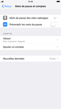 Apple iPhone 6 Plus - iOS 12 - E-mail - 032b. Email wizard - Yahoo - Étape 9