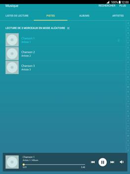 Samsung Galaxy Tab A - Photos, vidéos, musique - Ecouter de la musique - Étape 5