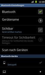 Samsung Galaxy S Advance - Bluetooth - Verbinden von Geräten - Schritt 9