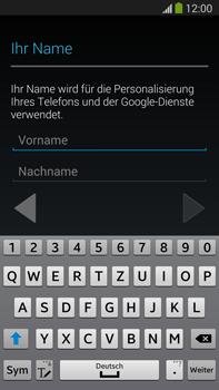 Samsung Galaxy Note III LTE - Apps - Einrichten des App Stores - Schritt 5