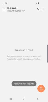 Samsung Galaxy S10e - E-mail - 032b. Email wizard - Yahoo - Fase 10