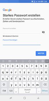 Samsung Galaxy A8 Plus (2018) - Apps - Konto anlegen und einrichten - 13 / 19